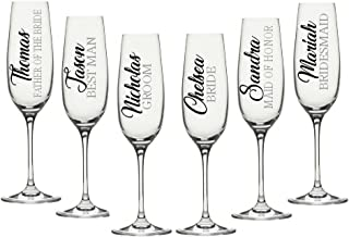 wedding glass decals
