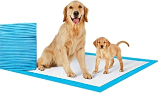 SKY-TOUCH Disposable Absorbent Quick Drying Leak-Proof Pee Pads for Potty Training for Pets, 60x60cm L - 40 Pieces, blue, ...