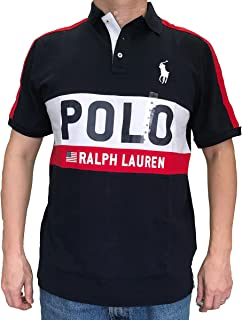 Men's Classic-Fit Crest Logo Big Pony Polo Shirt