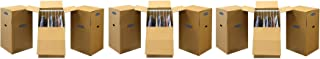 Bankers Box SmoothMove Wardrobe Moving Boxes, Tall, 24 x 24 x 40 inches, 3 Pack (7711001) (3 X 3 Pack)