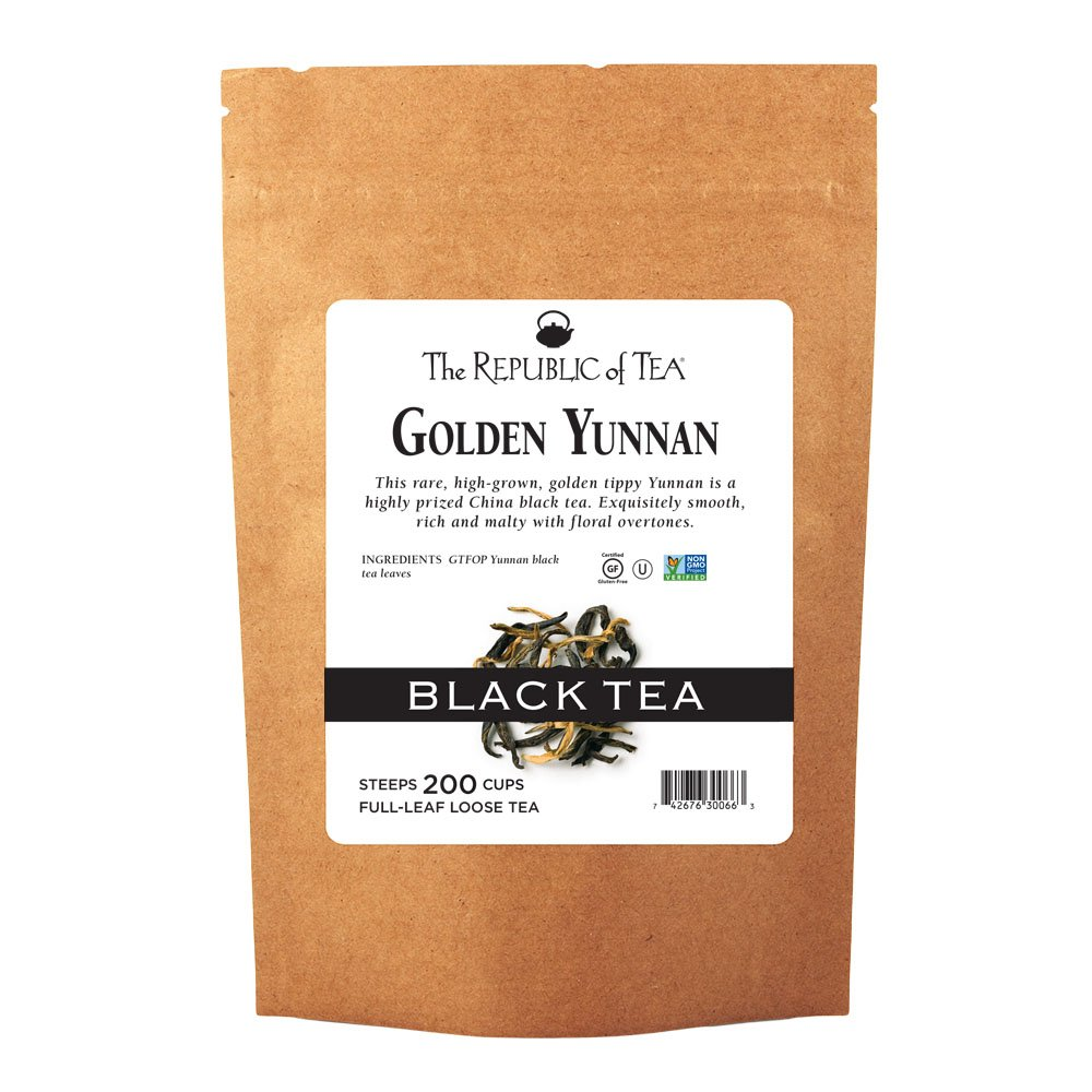 The Cheap mail order sales Republic Of Tea Golden Max 40% OFF Pound Yunnan Black Full-Leaf 1