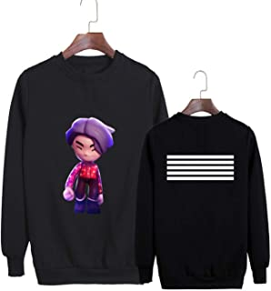 Kpop Korean Fashion Bigbang Always Album Made Lies Concert Cartoon Cotton Hoodies Clothes Pullovers Sweatshirts PT455