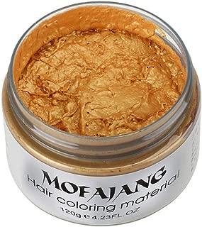 Creazy 2017 DIY Hair Clay Wax Mud Dye Cream Grandma Hair Ash Dye Temporary 7 Colors (B)