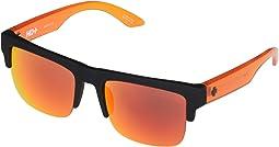 Soft Matte Black Translucent Orange/HD Plus Gray Green with Oran