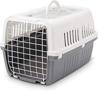 Saivc Zephos 1 Pet Carrier, 22 x 15 x 13 inch, Travel Transport Carrier for Small Dogs and Cats Weighing up to 7 kg, Suita...