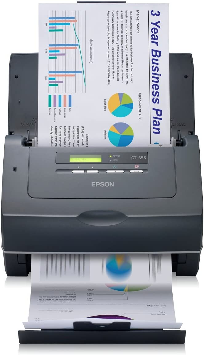 EPSON GT-S55 A4 SHEETFED Scanner BLK