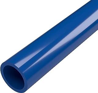 FORMUFIT P001FGP-BL-5 Schedule 40 PVC Pipe, Furniture Grade, 5', 1