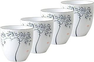 Hwagui - Chinese Ceramic Kung Fu Tea Cups Set of 4 150ml/5.1oz