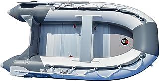 BRIS 2.5M Inflatable Boat Inflatable Pontoon Dinghy Raft Tender Boat