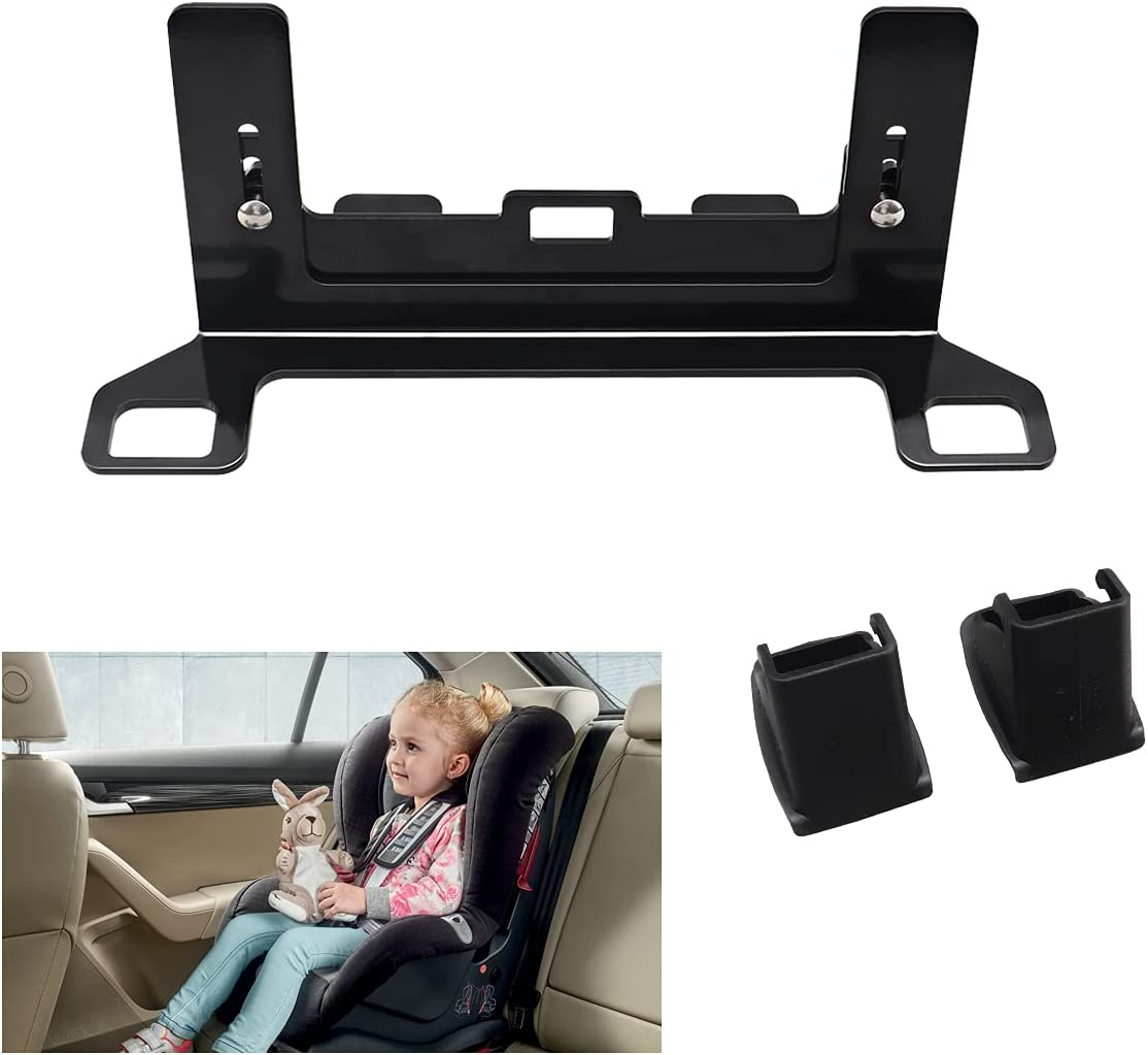 Chelhead Universal CarSeat ISOFIX Latch Interface Bracket, Child Seat Restraint Anchor Mounting Kit ISOFIX Belt Connector for Baby Safety Chair