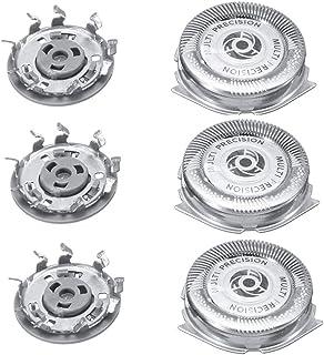Universal Cabezales de Afeitado Repuesto del Cabezal Tres para Philips Series 5000 Shaver SH50 / 51/52 HQ8