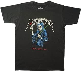 yeezus reaper roses tee