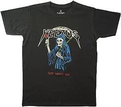 Lectro Click2tshirt Men's Reaper Rose Tour tee Yeezus Hip Hop Rapper Gang T-Shirt Click2tshirt