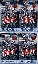 4 (Four) Packs - 2015 Topps Football Hobby Packs (10 Cards per Pack)