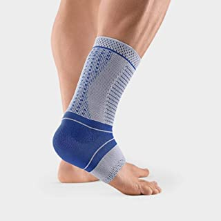 Bauerfeind - AchilloTrain Pro - Achilles Tendon Support - Breathable Knit Ankle Brace for Targeted Relief of Achilles Tendon Without Limiting Mobility - Size 3 - Color Titanium