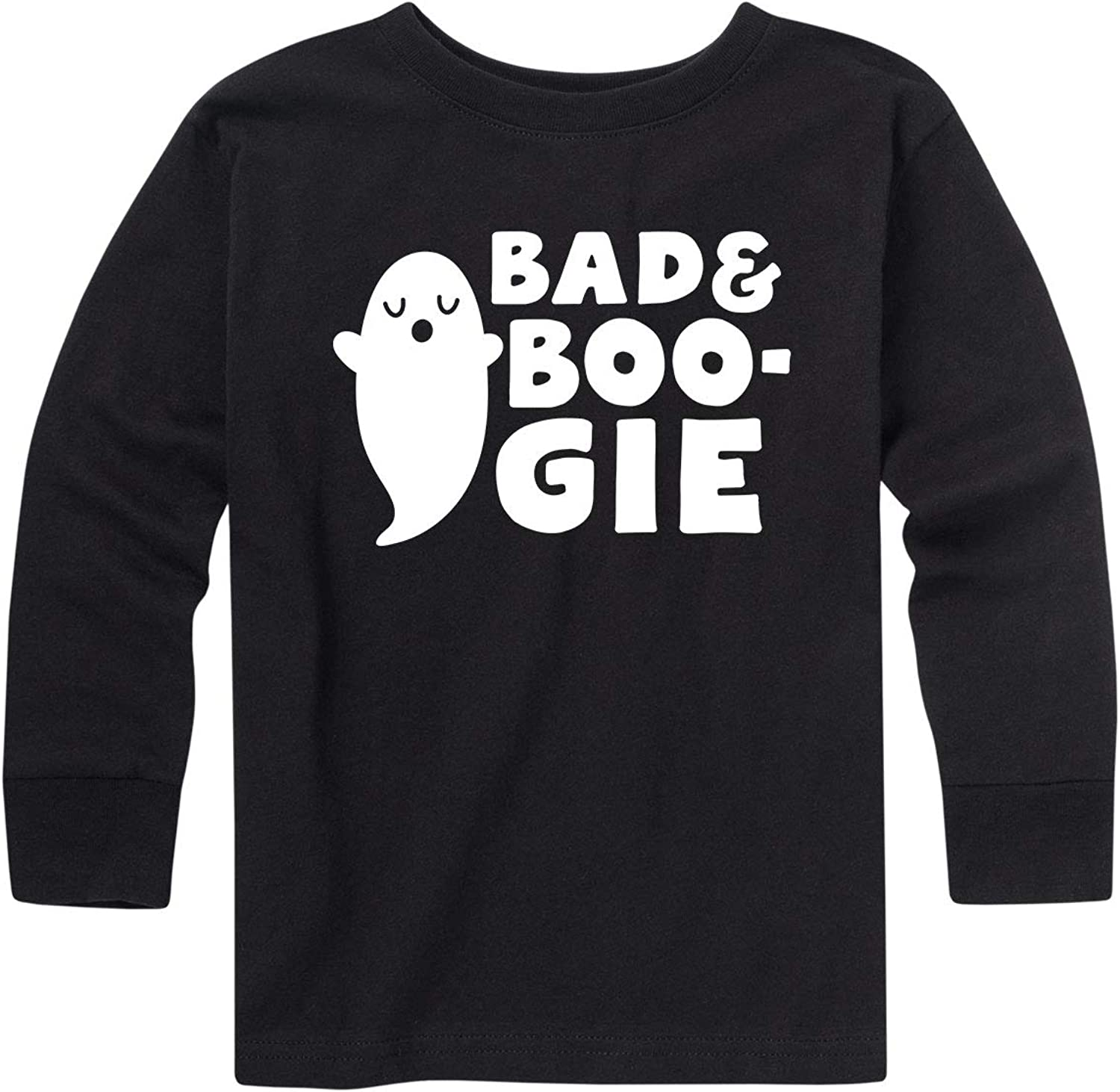 Toddler Long Sleeve Tee Instant Message Bad and Boogie