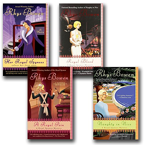 Royal Spyness, 6 Book Set: Her Royal Spyness + A Royal Pain + Royal Flush + Royal Blood + Naughty in Nice + The Twelve Clues of Christmas