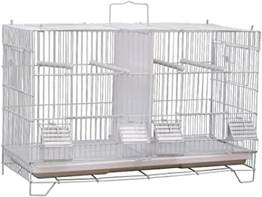 Small Bird Cage/Cottages Bird House Villa luxury breeding cage Home for Birds, ideal for Budgies, Canaries, Zebra Finches and