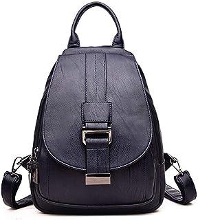 d6dae569f3d5c3 Ambiguity Zaino Donna Pelle,in Morbida Pelle Moda Grande capacità Womens Bag  Personalizzata Petto Casuale