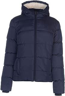 2 Zip Bubble Coat Womens Jacket Navy Outdoor Top Ladies Outerwear UK 14 (Large)