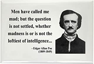 CafePress Edgar Allan Poe 18 Rectangle Magnet Rectangle Magnet, 2