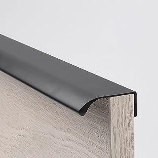 Oukerde 6 Pack moderne stijl vinger rand trekken, meubels lade handgrepen, verborgen kast keuken lade handgrepen knoppen, ...