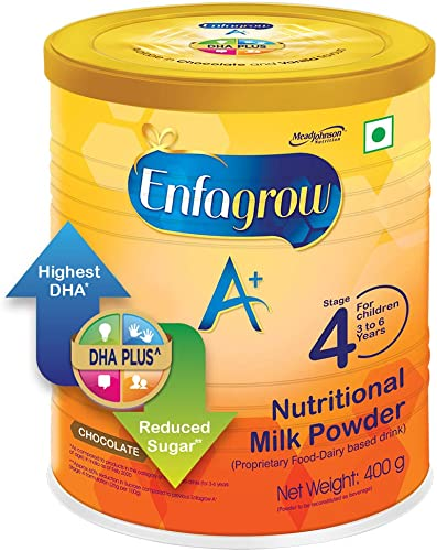 Enfagrow A Nutritional Milk Powder Health Drink for Children 3 years Chocolate 400g