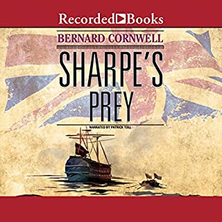Sharpe's Prey: Denmark, 1807 audiobook cover art