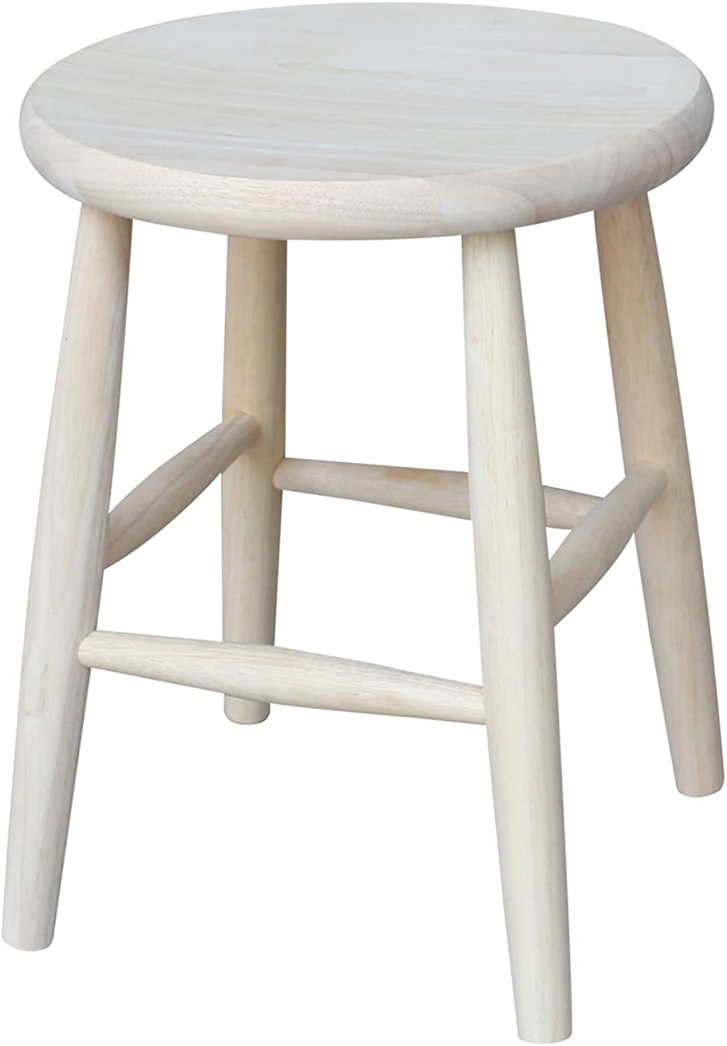 International Concepts 1S-818 Scooped Seat Stool - 18 Inch Seat Height