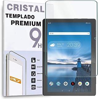 """REY Protector de Pantalla para Lenovo Tab M10 10.1"""" 2018 TB-X505F TB-X505L, Cristal Vidrio Templado Premium, Táblet"""