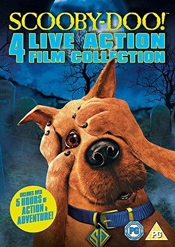 Scooby-Doo - 4 Live Action Films [Edizione: Regno Unito] [Reino Unido] [DVD]
