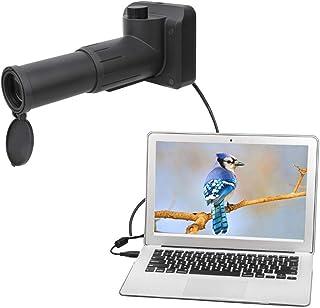 Eulbevoli Robuste avec Petit trépied Portable 1080P léger 1080P 20X USB HD monoculaires numériques caméra Photo Enregistre...