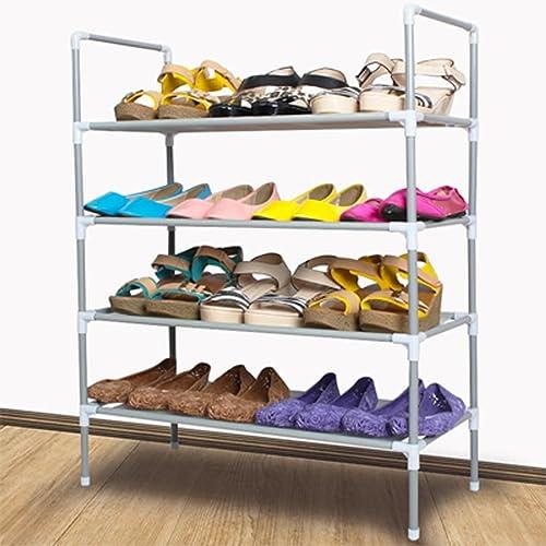 Schuh Einfache Moderne Multi - Layer - Montage von Haushaltregalen A+ (Farbe   with armrests, Größe   Vier)