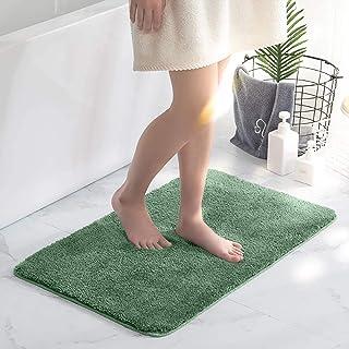 Bathroom Rugs Non Slip Extra Soft Fluffy Bath Mat Absorbent Bathmats Machine Washable, 20 x 32 inch