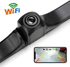 WiFi License Plate Backup Camera, 720P HD Car Rear View Reverse Camera Work with Most Smart Devices, IP68 Waterproof