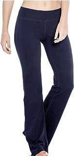 Houmous Women's Yoga Pants Workout Running Capri Leggings Inner Hidden Pocket