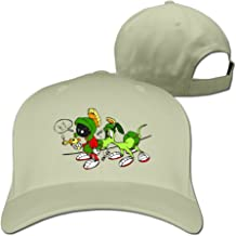 AOLM Classic Adult Martian and Rabbit Trucker Cap Hat Black