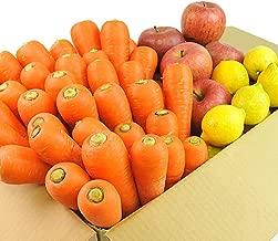 無農薬にんじん野菜セット(無農薬にんじん3kg+りんご2kg+レモン500g)