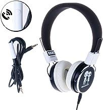 DAM DMK056 - Cascos diseño Music Ajustables, Color Negro