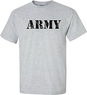 Joe's USA - Vintage Army Logo T-Shirts, Regular Big and Tall Sizes