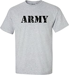 Joe's USA - Vintage Army Logo T-Shirts, Regular Big and Tall Sizes