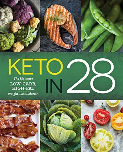 Keto in 28: The Ultimate Low-Carb, High-Fat Weight-Loss Solution (English Edition)