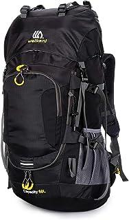 comprar comparacion Lixada Mochila de Senderismo Impermeable 60L con Cubierta de Lluvia para Excursionismo Alpinismo Acampada Ciclismo al Aire...