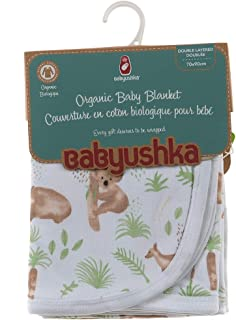 Babyushka Organic Australiana Collection Blanket