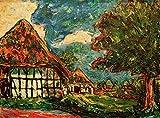 Kunstdruck/Poster: Ernst-Ludwig Kirchner Fehmarn-Häuser -