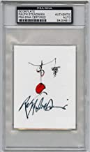 Ralph Steadman SIGNED Bookplate Hunter S Thompson SLABBED AUTOGRAPHED - PSA/DNA Certified