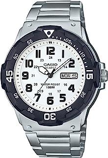 CASIO Orologio Quarzo con Cinturino in Acciaio Inox MRW-200HD-7BVEF