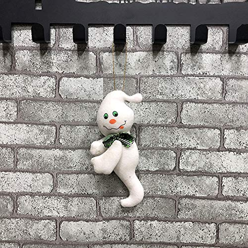 The Halloween Wall-Mounted Doll Pendant Bar Party Decorations (Pumpkin) Outdoor Indoor for Kids Zoe's Shop (Color : Ghost)