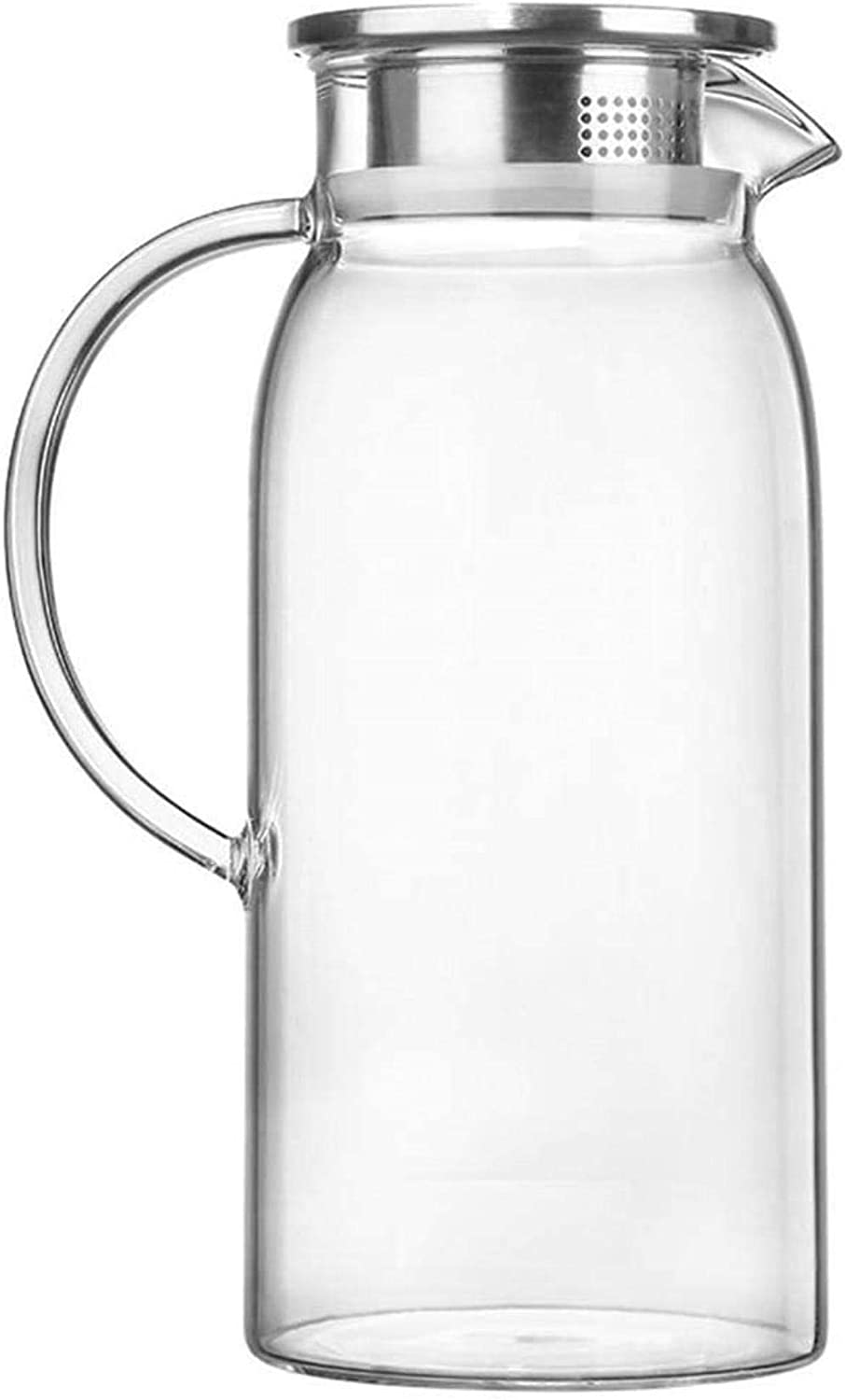 CHAIODENGZI Water Jug Glass Today's only Pitcher with supreme Iced Lid and Bor Handle