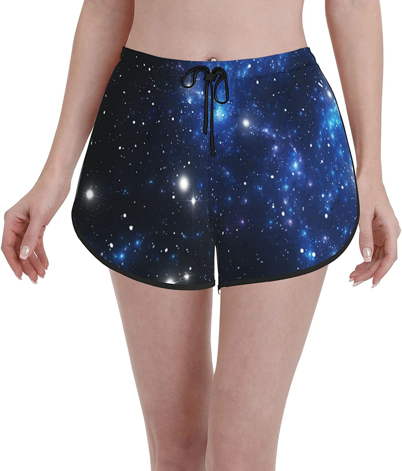 Janrely Casual Board Shorts for Women Beach Attention brand Popular Girls Trunks We Swim
